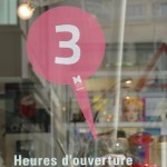 """DESIGN CITY SHOPS""_Follow the PINK LOGO!"
